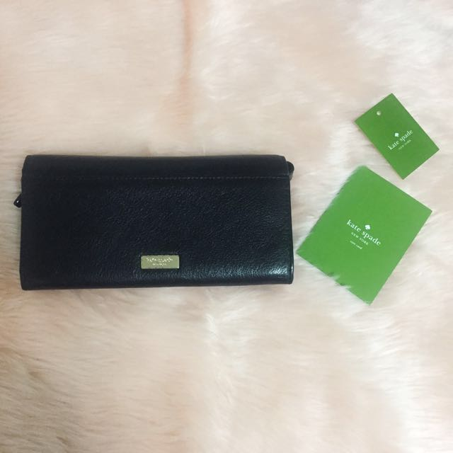 Kate Spade bifold wallet wristlet