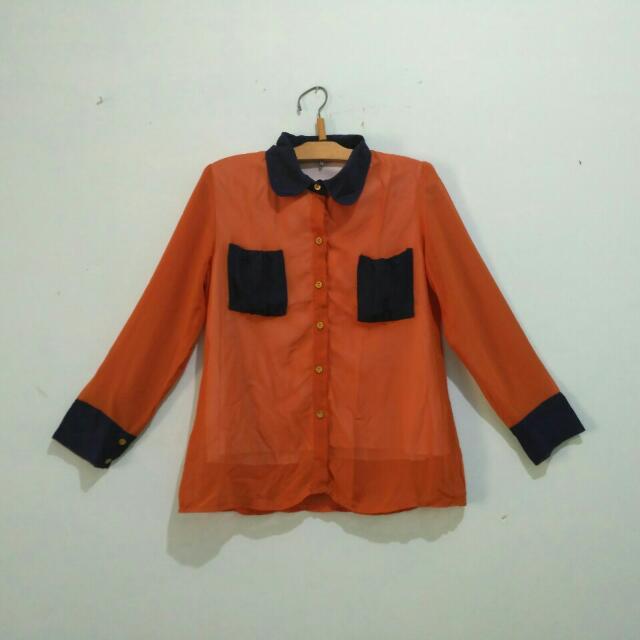 Kemeja orange