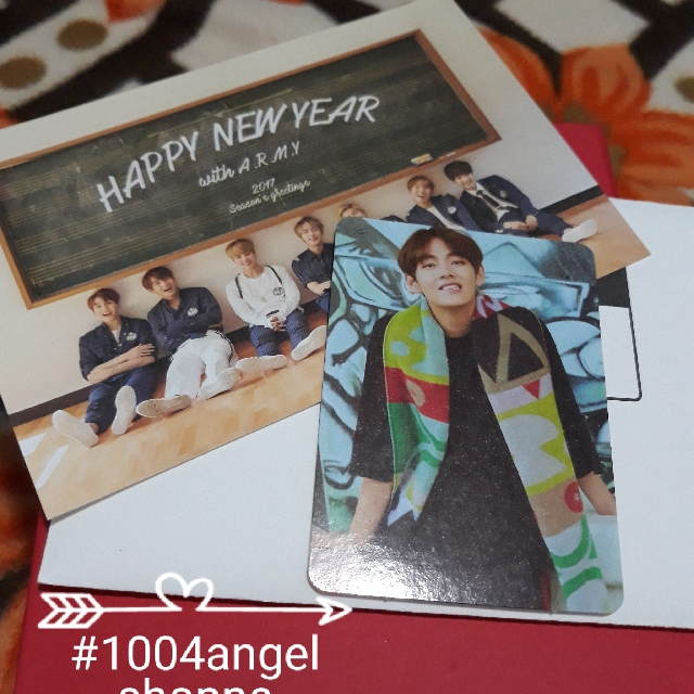 BTS Kim Taehyung Season Greeting photocard (REPRICED)