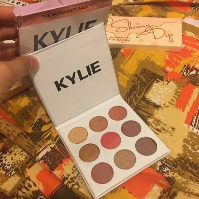 Kylie Burgundy Pallete