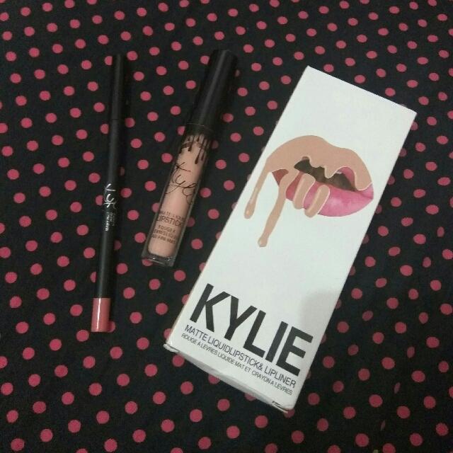 Kylie matte lipstick & lipliner