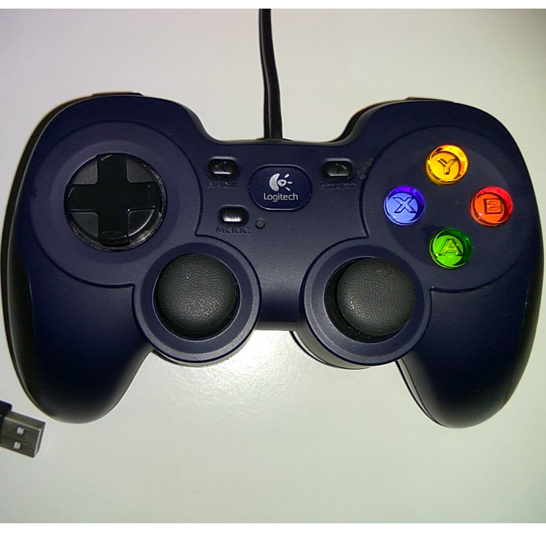 Logitech F310 Gamepad wired usb barely used ( XInput + DirectInput + Steam  compatibility )