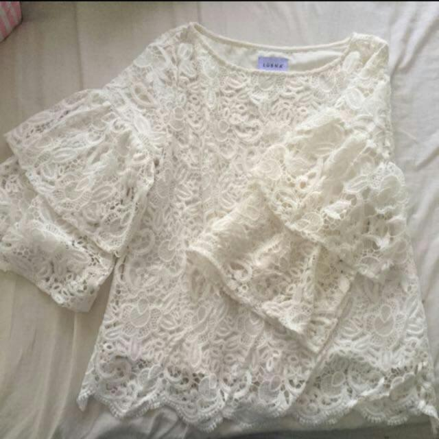 Lubna Lace Top