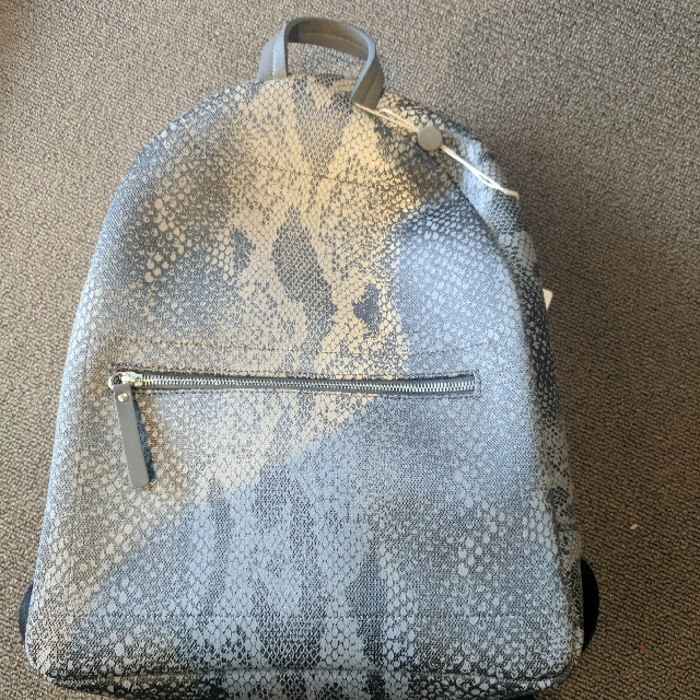 Maison Margiela Reflective Snakeskin Ghost Backpack