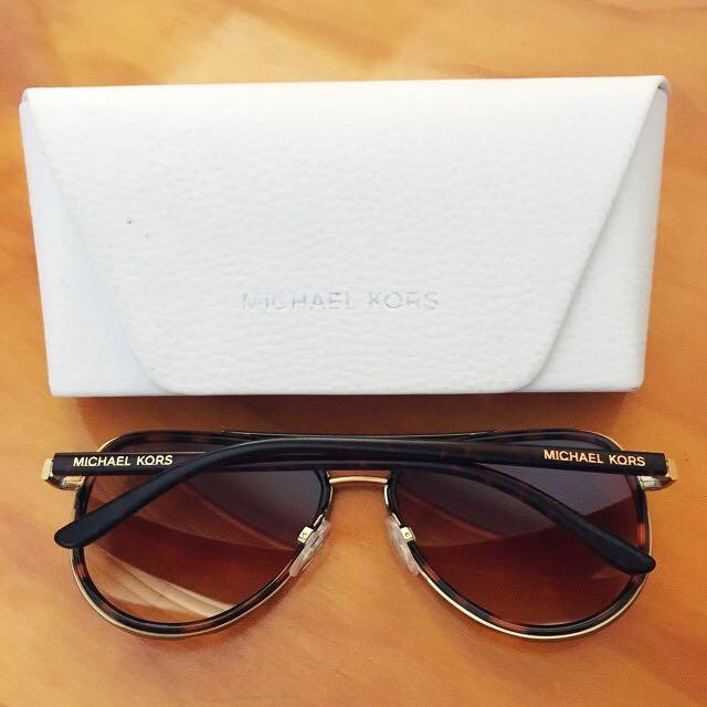 4676a36a6c Michael Kors Playa Norte Aviator Sunglasses