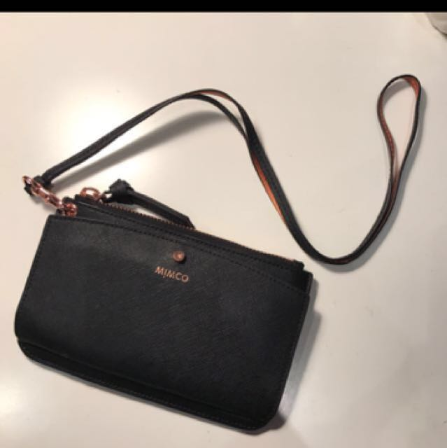 Mimco Passport Lanyard Wallet RRP. $150