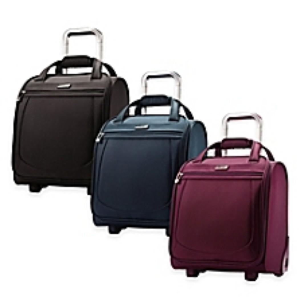 cb3155820044 Samsonite Mightlight 2 Softside Wheeled Boarding Business Travel ...