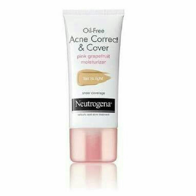 Neutrogena Acne Correct & Cover - Fair To Light