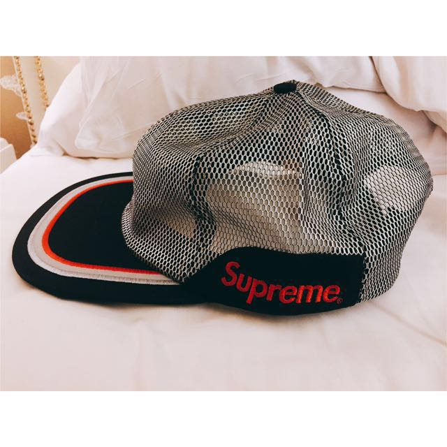 72a3efc6901 🔥NEW 🔥 Supreme Metallic Mesh 6 Panel Cap