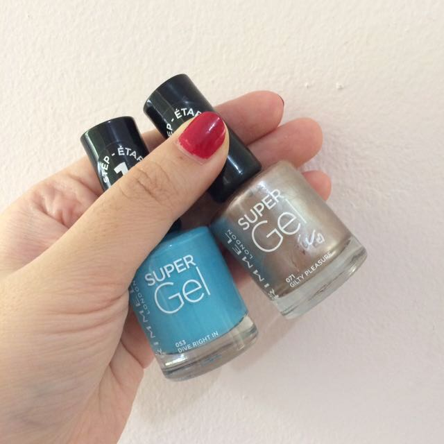 *New Take All* Rimmel Super Gel Polish by Kate Moss