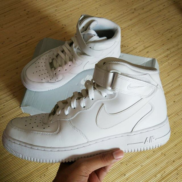 Nike Air Force 1 Mid (White)