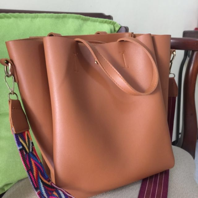 No brand Faux Leather Bag