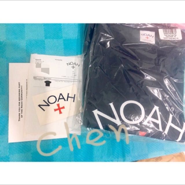 Noah core logo T 深藍