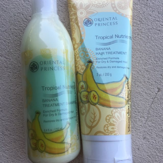 Oriental Princess Banana Shampoo & Conditioner