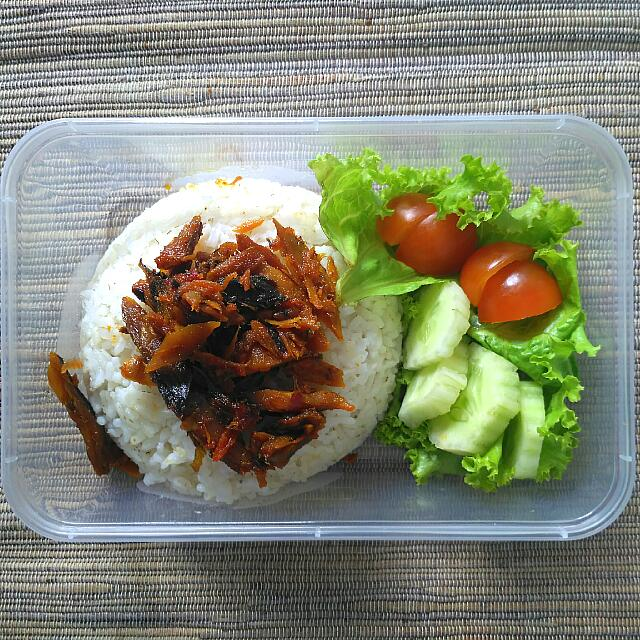 Pampis Tongkol Pedas (Lunch Set)