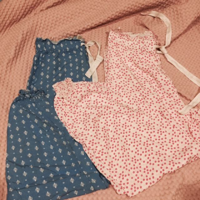 PJs size small and XS