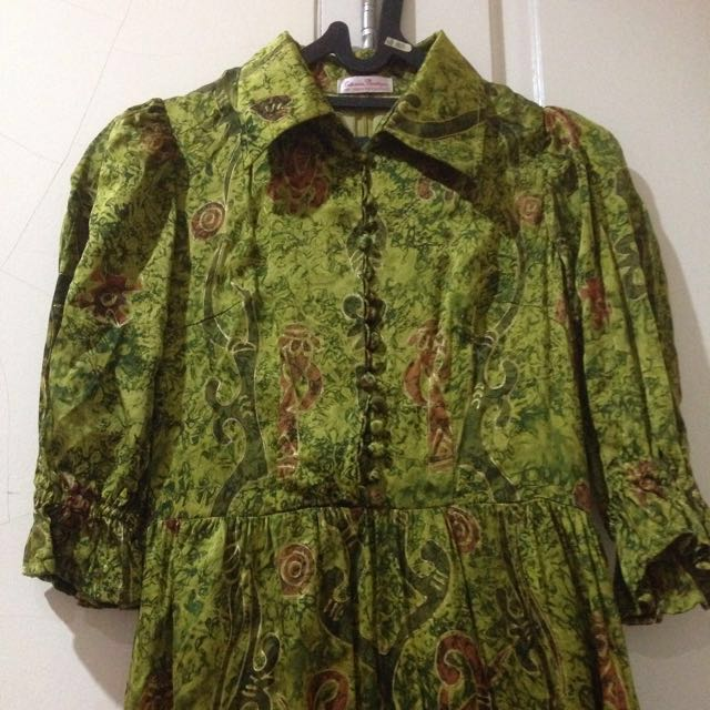 #Prelovedkusayang - Dress Batik Sutera Papua