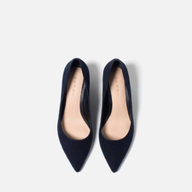 a4382e4873e PRICE REDUCED  ZARA Medium Heel Pointed Shoes