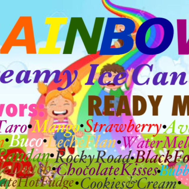 Rainbow Creamy Ice Candy Ph
