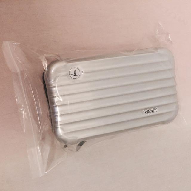 全新過夜包迷你行李箱旅行箱RIMOWA航空禮品化妝包收納包手拿包漱口包硬殼包ABS+PC