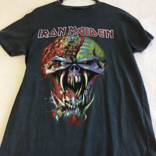 Iron maiden tee medium