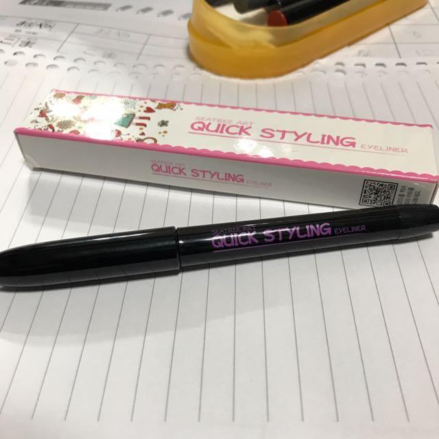 韓國Seatree Art黑色眼線液筆 #五十元美妝#眼線液筆