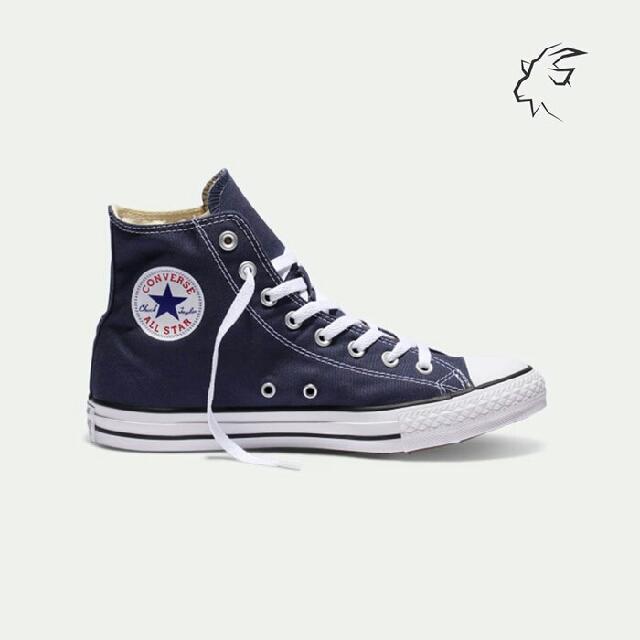 48c51974536 Sepatu Converse Chuck Taylor Hi Navy - 100% Original (BNIB)