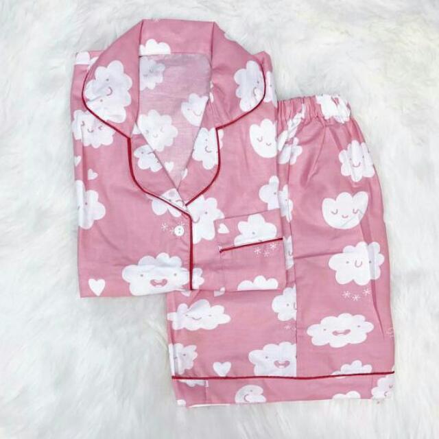Piyama Pink Clouds