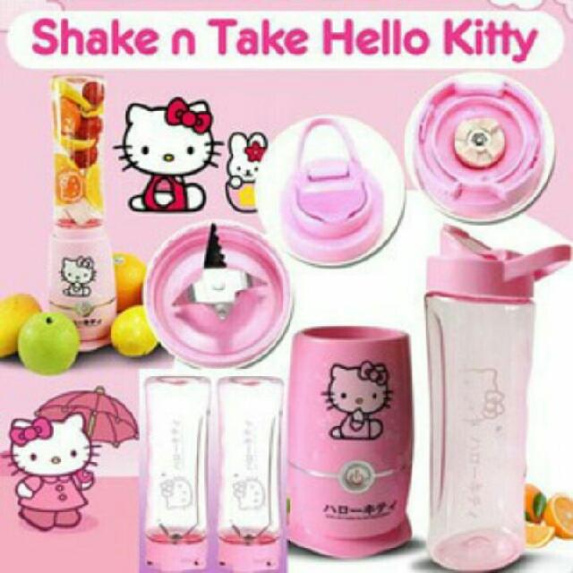Shake N Take Hello Kitty 2 Cup Blender HK