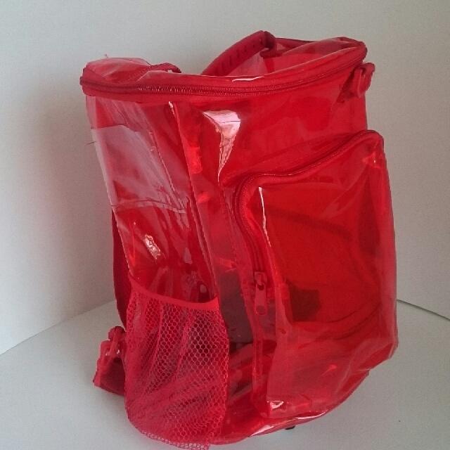 Tas Punggung ( Backpack Transparant) Stok Terbatas.