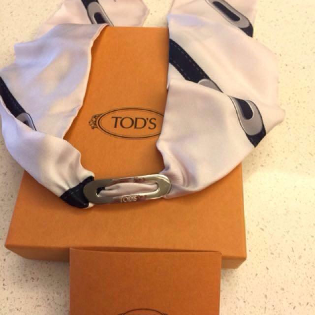 TOD'S絲質手環(誠可議)