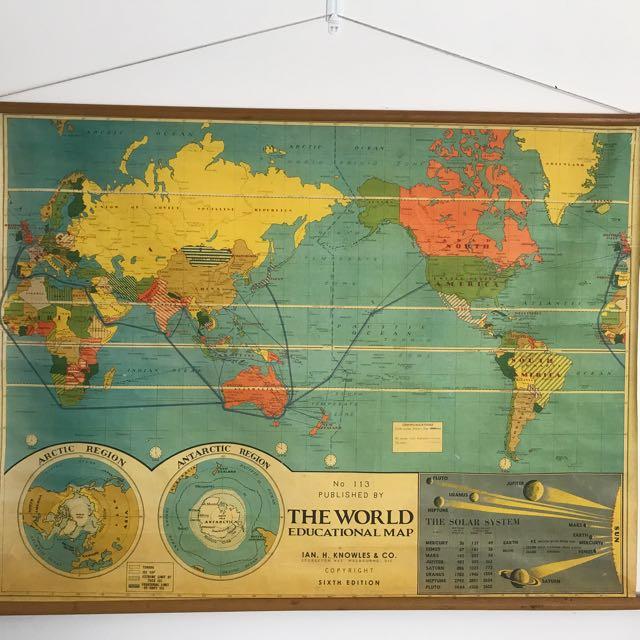TYPO World Map