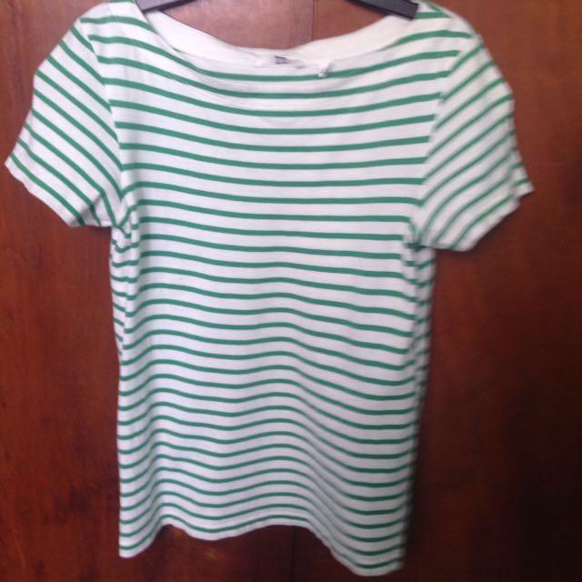 Uniqlo Stripes Blouse