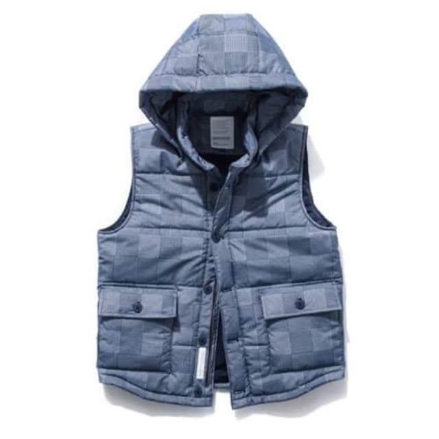 Demarcolab WATER-REP. HOODY VEST Less Remix