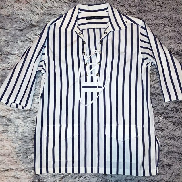 Vintage Ralph Lauren Short Sleeve Blouse