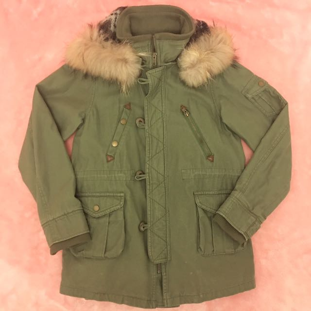 Warm Khaki Jacket