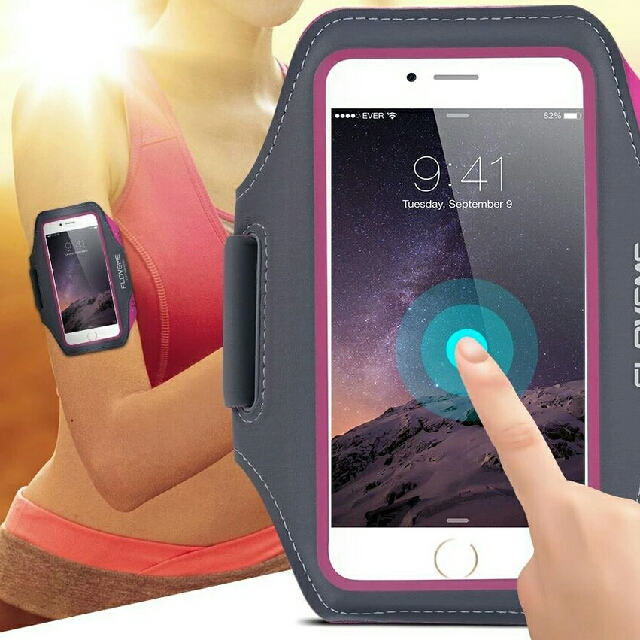 new product 1a5f3 9d4eb Waterproof Sport Arm Band Case For iPhone Samsung Galaxy S8 S7 S6 Edge S5  Universal For Below 5.5 Inch Moblie Phones Touch Gym