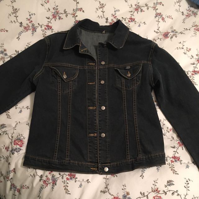 Woman's Jean Jacket From Jean machine