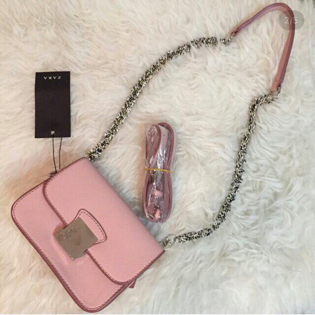 Zara Pink Crossbody
