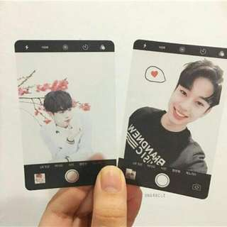 Transparent Photocard
