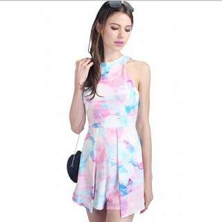 Faythlabel Avery Playsuit In PINK