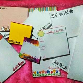 Personalized/ Customized Notepads
