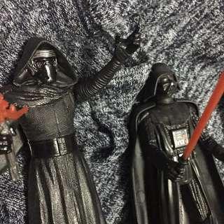 Package: Darth Vader & Kylo Ren