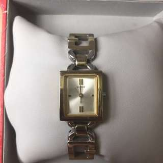 Guess 2 toned Watch