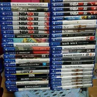 ps4 games and consoles