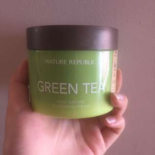 Nature republic green tea cleansing cream