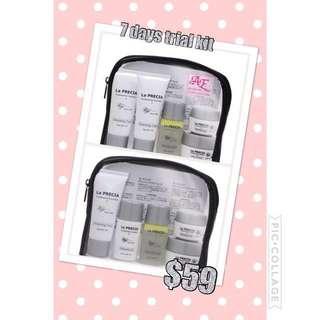 Travel kit La Precia placenta skin care