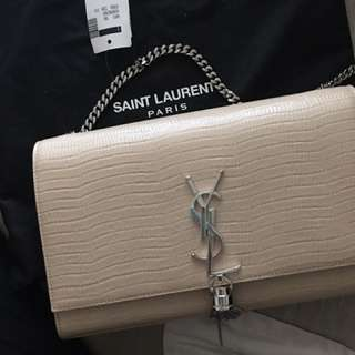 NEW Authentic ysl beige tassel with tags