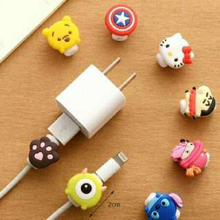 Cartoon Lightning Cable Cord Saver Protector Iphone Winder