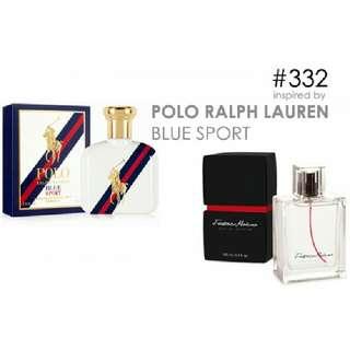 Parfum FM 332 Inspired By Ralph Lauren Polo Blue Sport